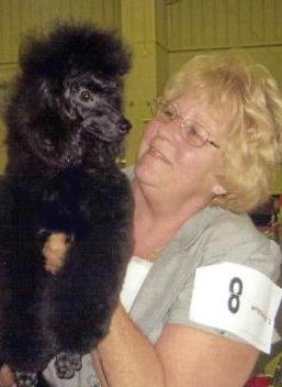 """Vickie Haywood & Poodle """"Traci"""""""